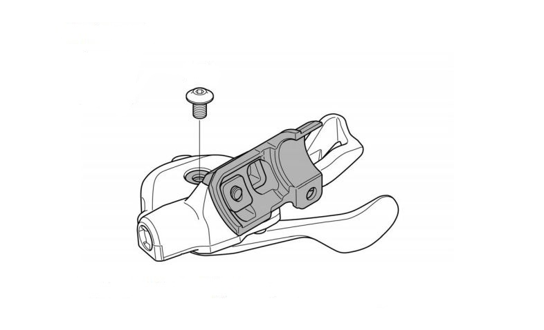 The I-Spec II integration unit. Again, if you want to dive in, this is pulled from Shimano's dealer manual: http://si.shimano.com/pdfs/dm/DM-SL0005-04-ENG.pdf